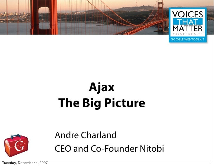 Voices That Matter  Ajax Overview