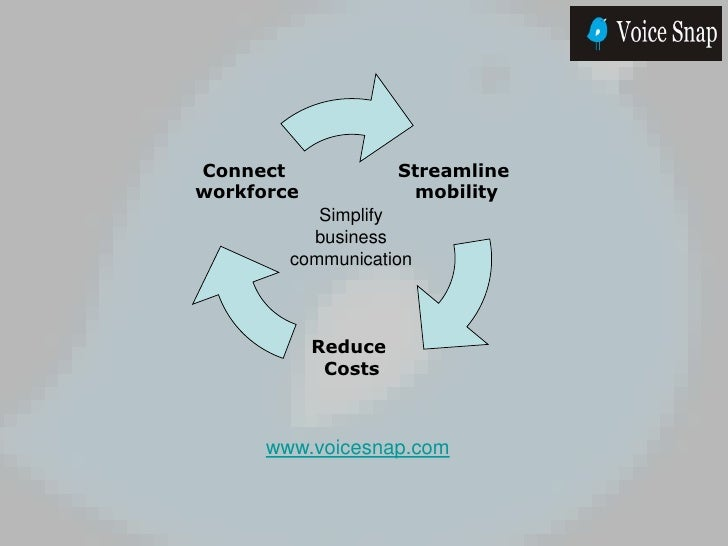 Connect              Streamline workforce             mobility            Simplify           business         communicatio...
