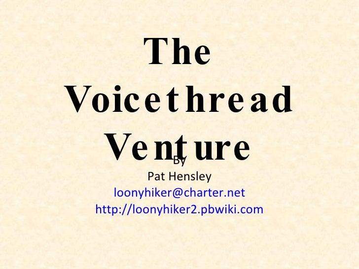 Voicethread Presentation