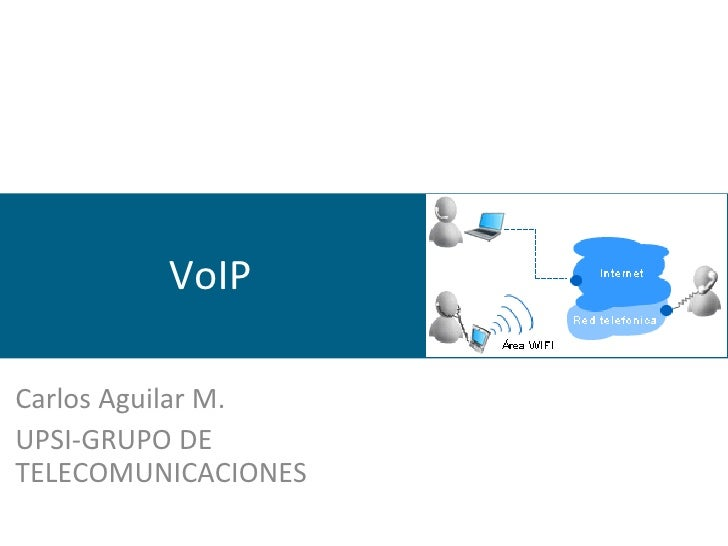 VoIP Carlos Aguilar M. UPSI-GRUPO DE TELECOMUNICACIONES