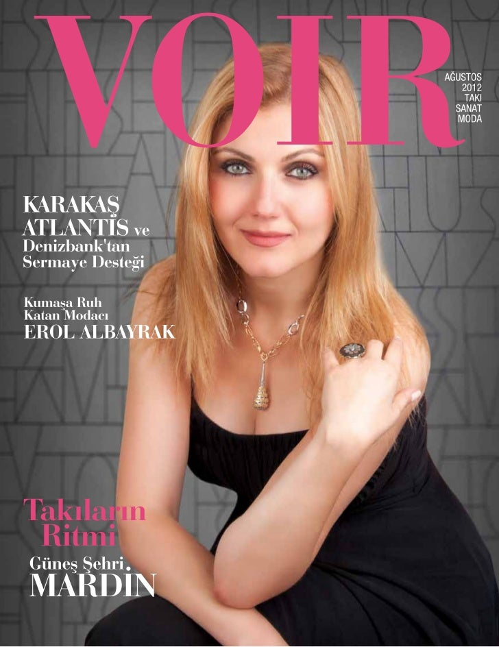 Voir Magazin - Ağustos 20012