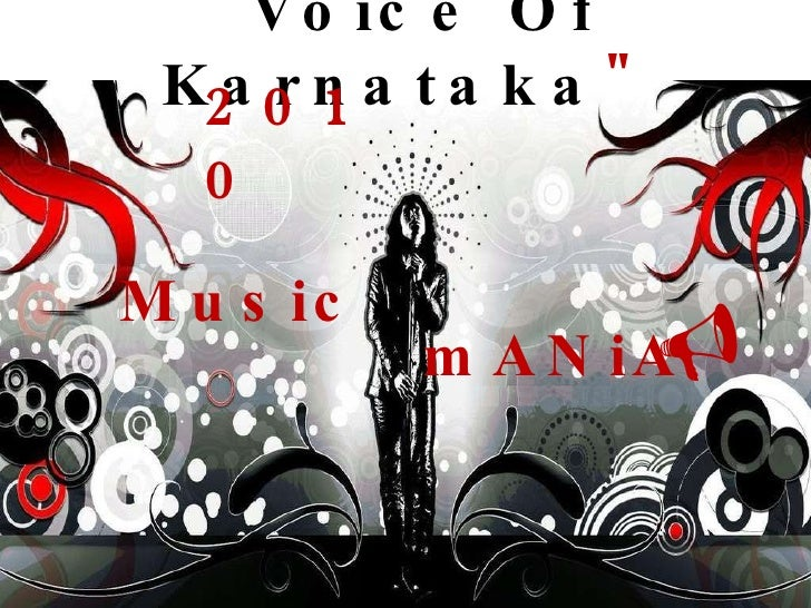""" Voice Of Karnataka "" 2010 Music mANiA "
