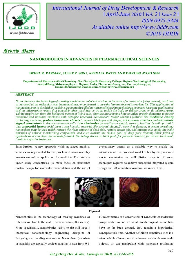 International Journal of Drug Development & Research                                            PRASHITH KEKUDA TR et al  ...