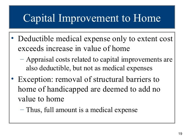 Can you deduct home improvement costs 28 images can for Home improvement costs