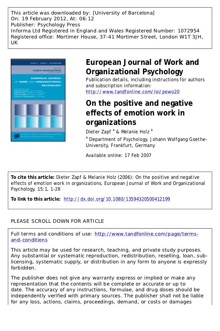 negative effects of working abroad We're doing a research paper concerning this there are both positive and negative effects however, how evident are these effects and how are these manifested and how does the parent/s compensate for their absence.