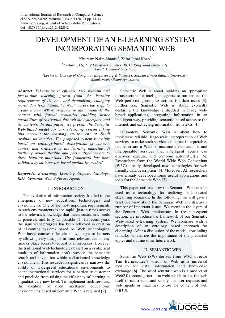 International Journal of Research in Computer Science eISSN 2249-8265 Volume 2 Issue 5 (2012) pp. 11-14 www.ijorcs.org, A ...