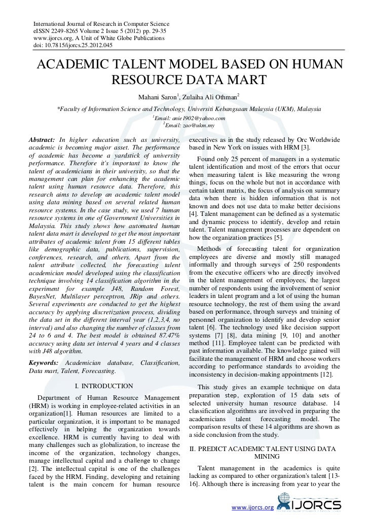 International Journal of Research in Computer Science eISSN 2249-8265 Volume 2 Issue 5 (2012) pp. 29-35 www.ijorcs.org, A ...