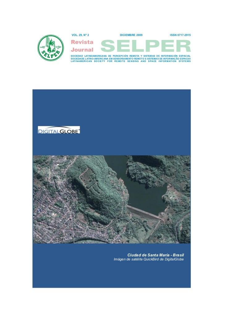 VOL. 29, Nº 2                     DICIEMBRE 2009                     ISSN 0717-2915SOCIEDAD LATINOAMERICANA DE PERCEPCIÓN ...