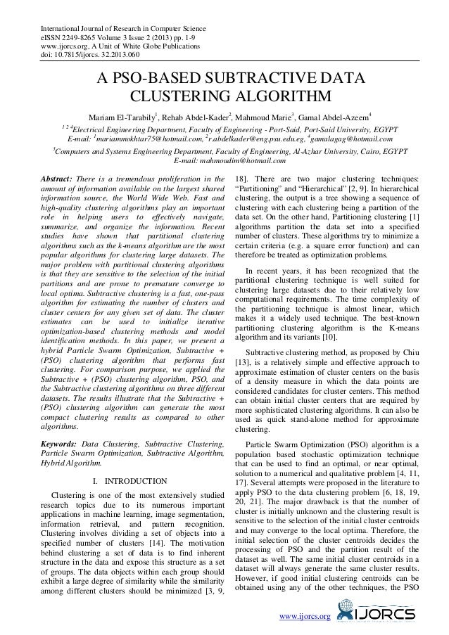 International Journal of Research in Computer ScienceeISSN 2249-8265 Volume 3 Issue 2 (2013) pp. 1-9www.ijorcs.org, A Unit...
