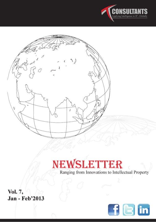 Talwar and Talwar Consultants Newsletter Vol 7