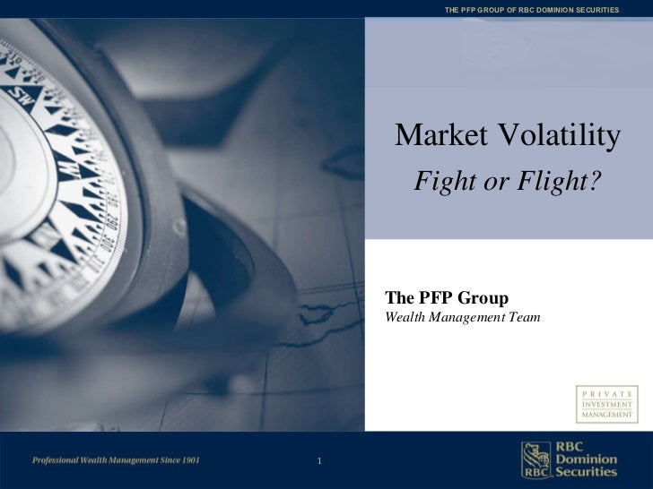 The PFP Group Wealth Management Team Market Volatility Fight or Flight?