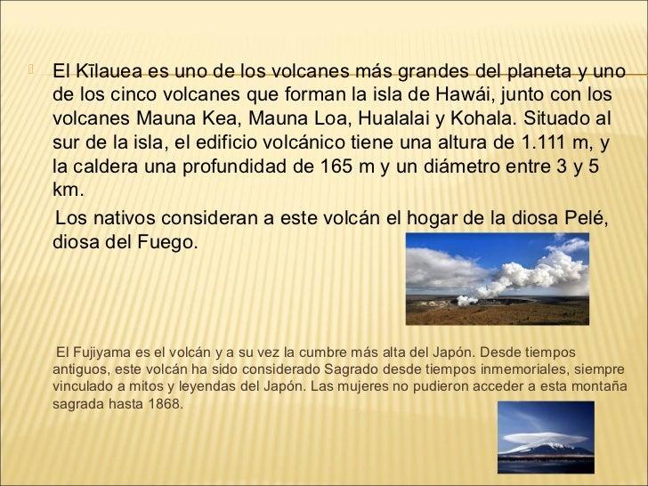 Volcanes - Calderas de peles ...