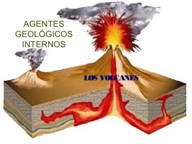 AGENTES GEOLÓGICOS INTERNOS LOS VOLCANES