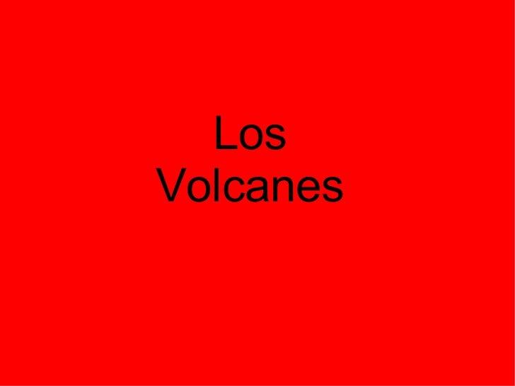 Volcanes, terremotos y maremotos