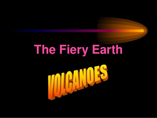 Earth Science - Volcanoes