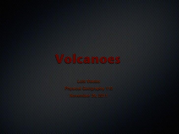 Volcanoesrevised