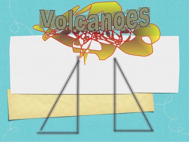 Shawn's Volcano Presentation