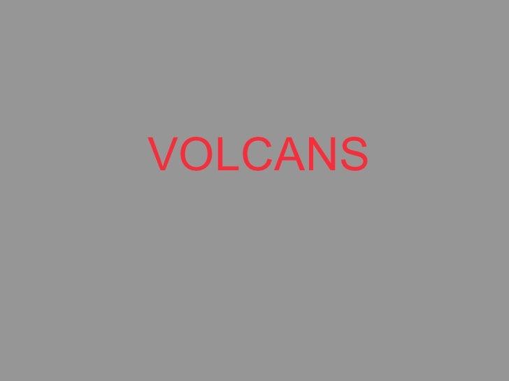 Volcans presentacio