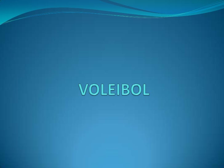 VOLEIBOL<br />