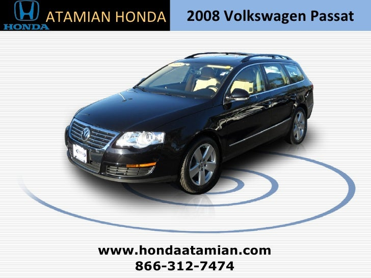 2008 Volkswagen Passat Station Wagon Boston, MA