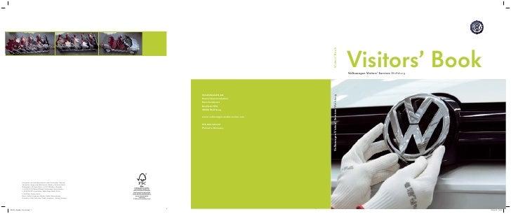 Volkswagen  Visitor\'s Book