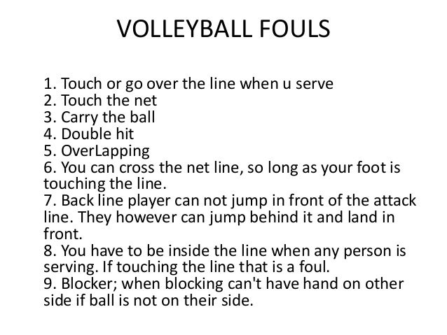 essay on volleyball