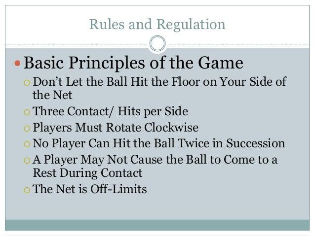 Basic Rules Of Volleyball Basic Rules Of Volleyball