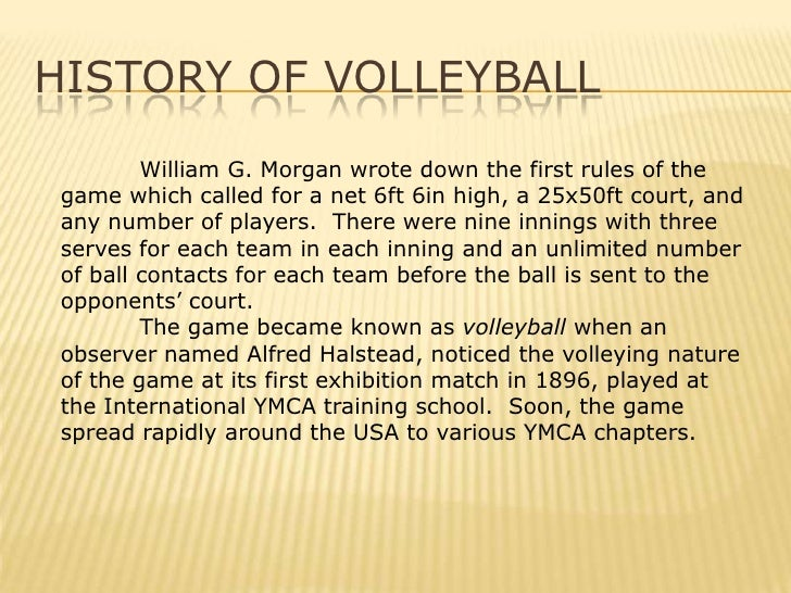 Awesome Volleyball Lecture