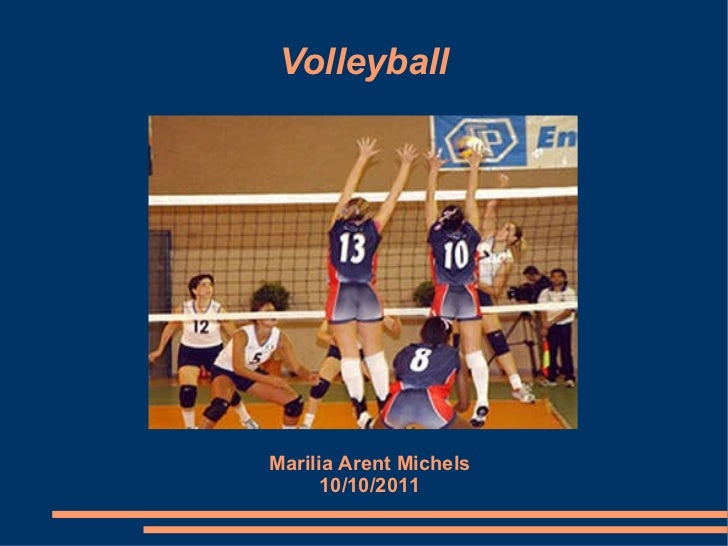 Volleyball Marilia Arent Michels 10/10/2011
