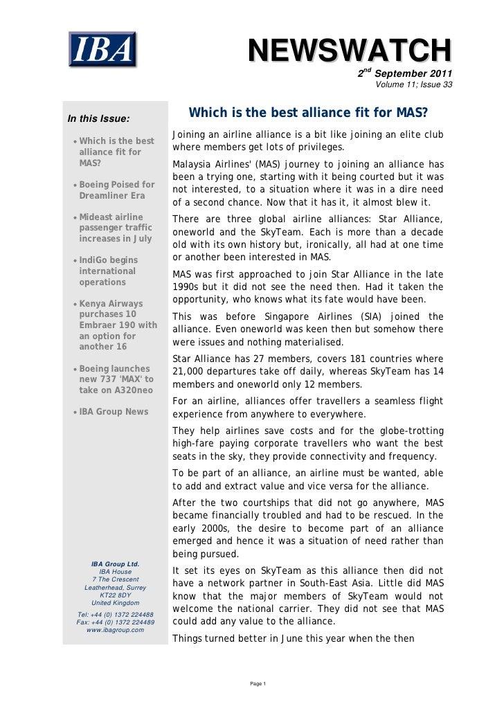 NEWSWATCH                                                                       2nd September 2011                        ...