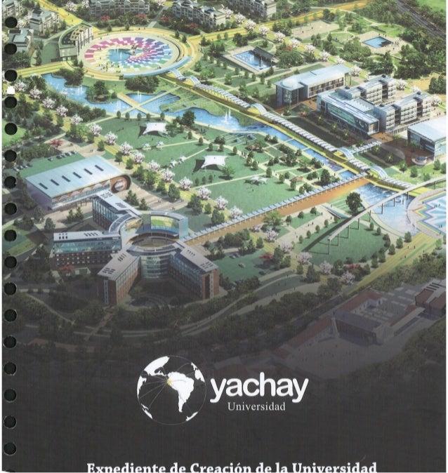 Volumen1 - Proyecto de Ley de Creación de la Universidad Yachay