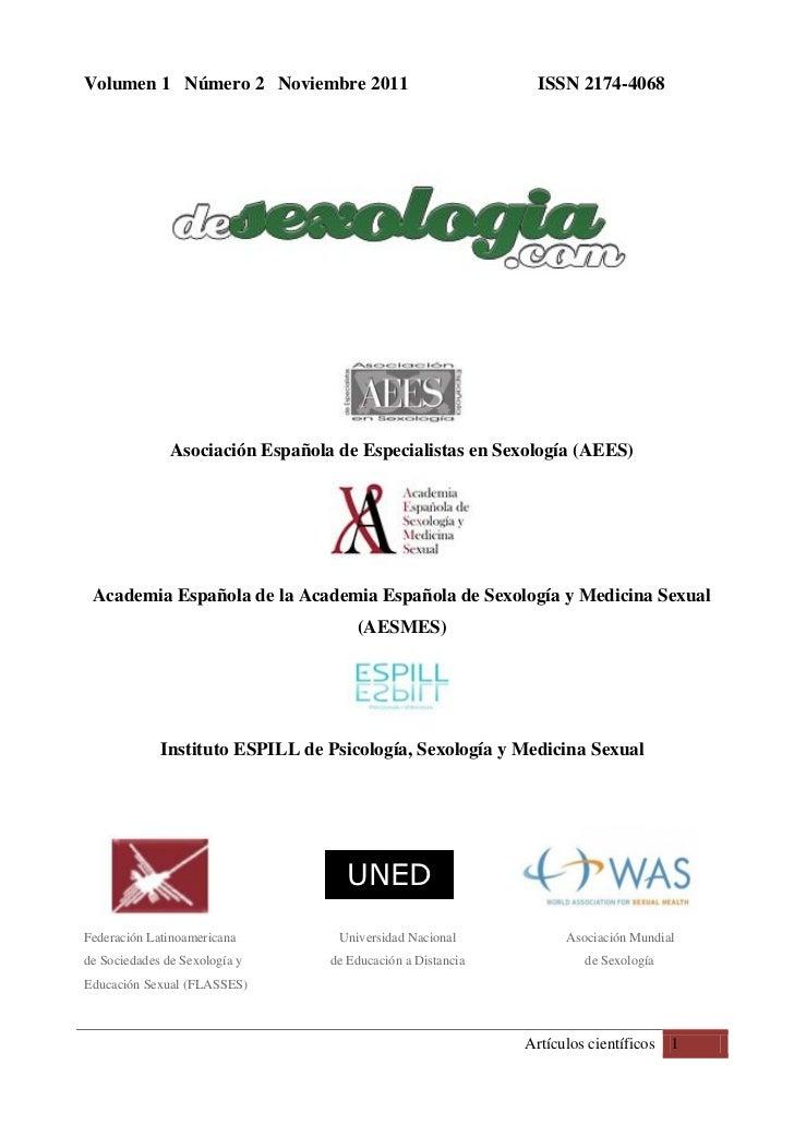 Volumen 1 Número 2 Noviembre 2011                             ISSN 2174-4068               Asociación Española de Especial...