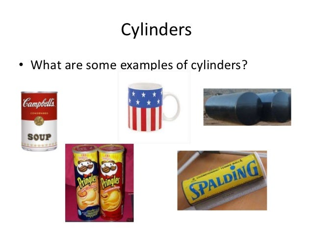 Cylinder In Real Life : Pics for gt examples of volume in real life