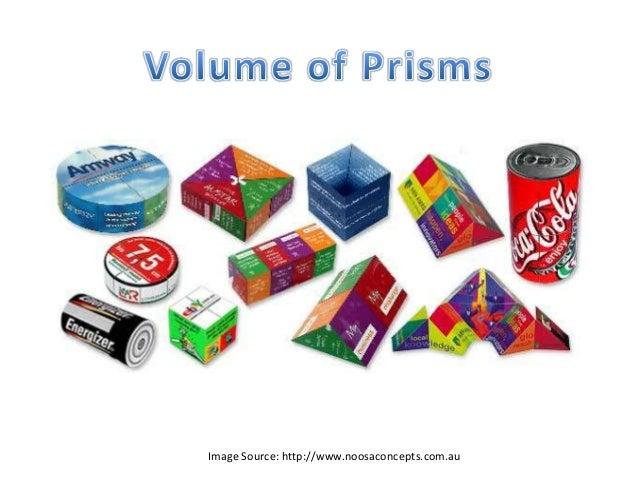 Prism Volume Volume of Prisms Image