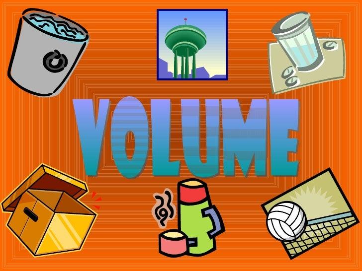 Volume- Mathematics