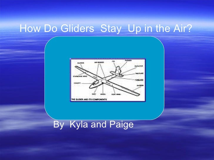 How Do Gliders Stay Up in the Air?           By Kyla and Paige