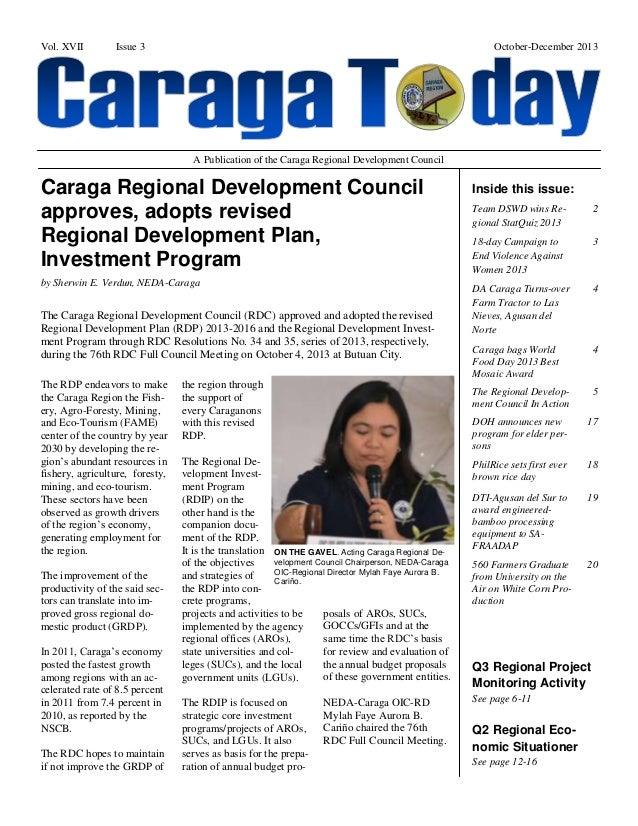 Caraga Today October-December 2013
