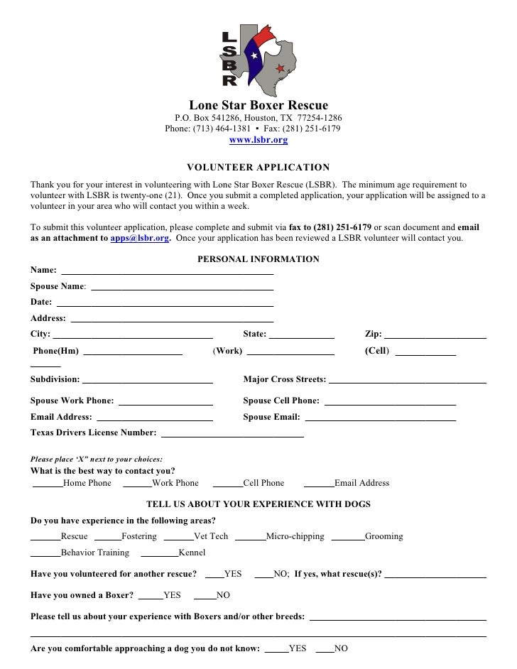 Lone Star Boxer Rescue                                            P.O. Box 541286, Houston, TX 77254-1286                 ...