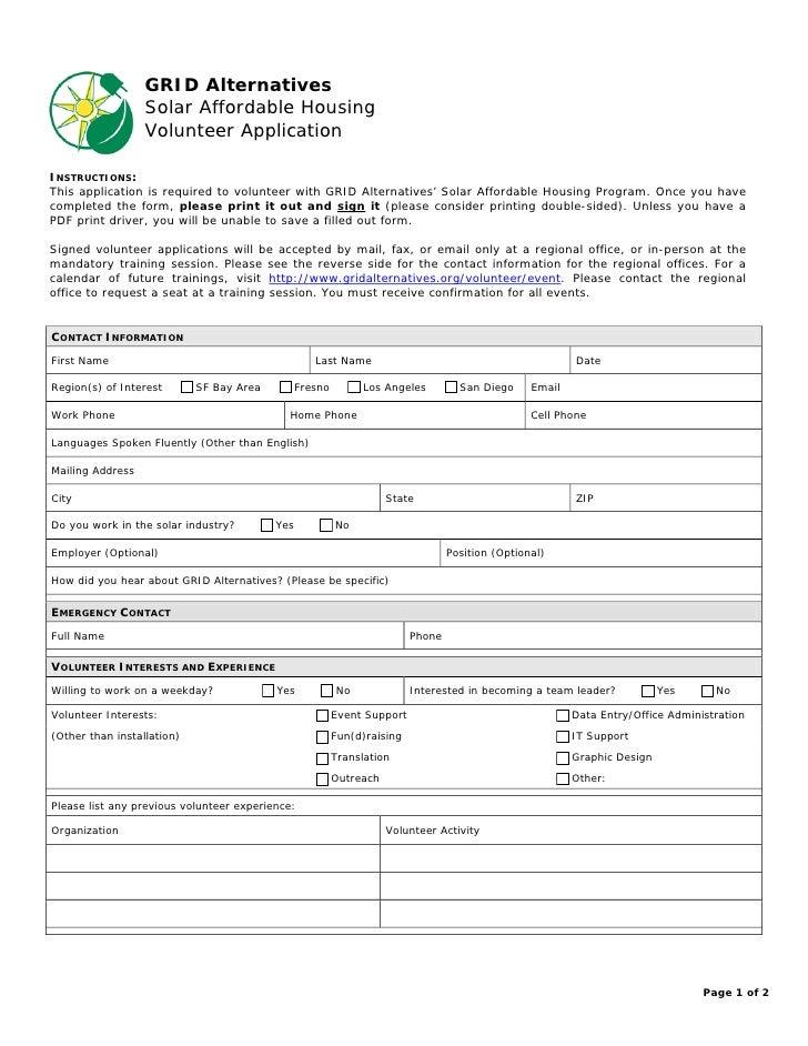 Volunteering Application Related Keywords & Suggestions ...