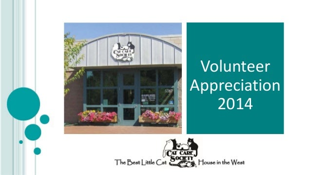 Volunteer Appreciation 2014
