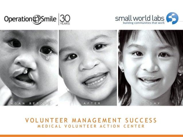 Volunteer Management Success