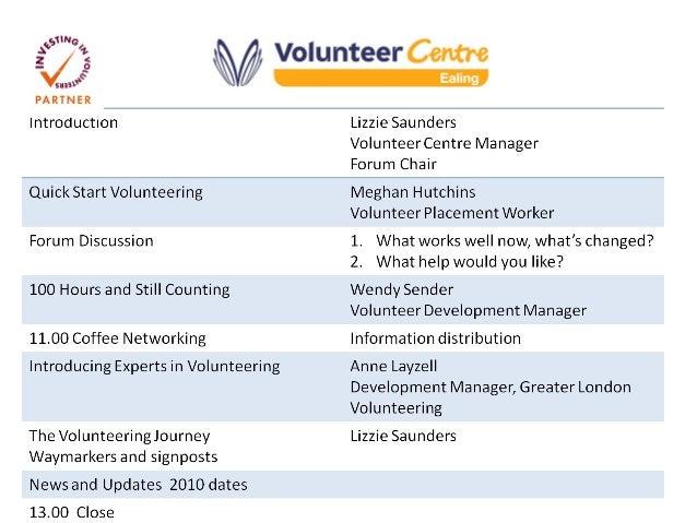 Quick Start Volunteering Meghan Hutchins Volunteering Placement Worker
