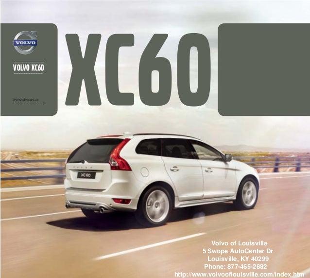 2013 Volvo XC60 Brochure KY | Louisville Volvo Dealer