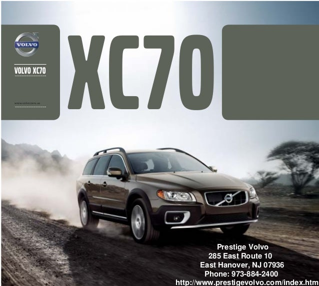 2013 Volvo XC70 Brochure | New York Volvo Dealer