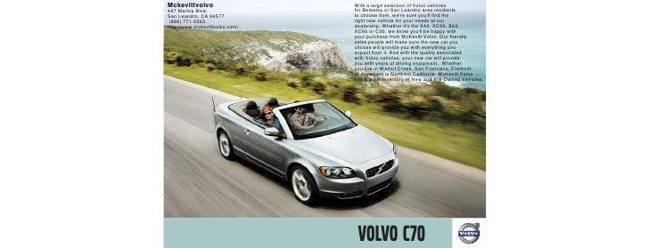 2010 Volvo C70 San Leandro