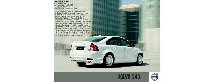 2010 Volvo S40 San Leandro