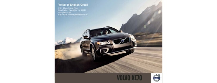 2010 Volvo xc70 Volvo of English Creek Egg Harbor Township ,NJ
