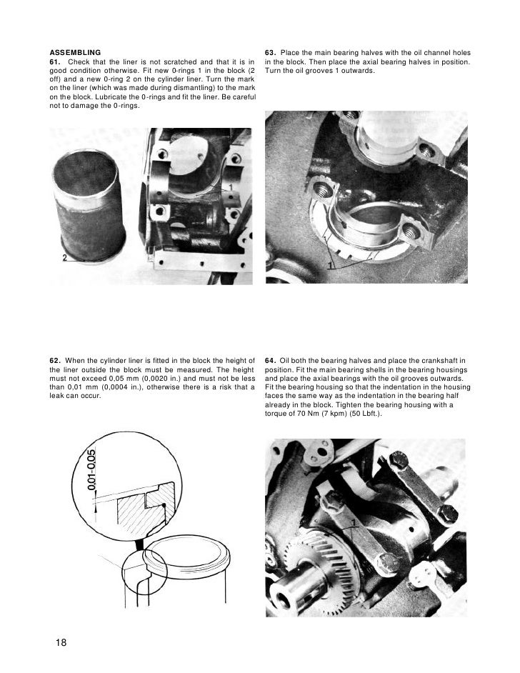 Volvo Penta Md5a Diesel Marine Engine Workshop Manual
