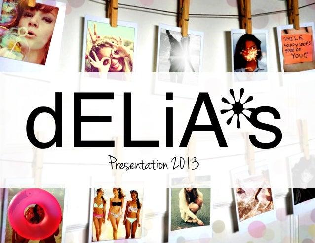 dELiA*s 2013 Campaign