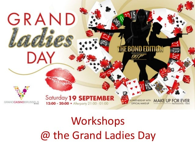 Workshops @ the Grand Ladies Day